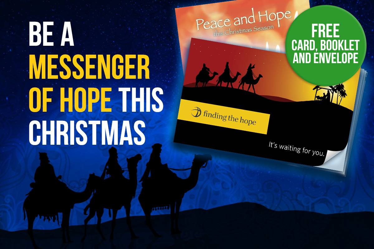 Be a Messenger of Hope this Christmas